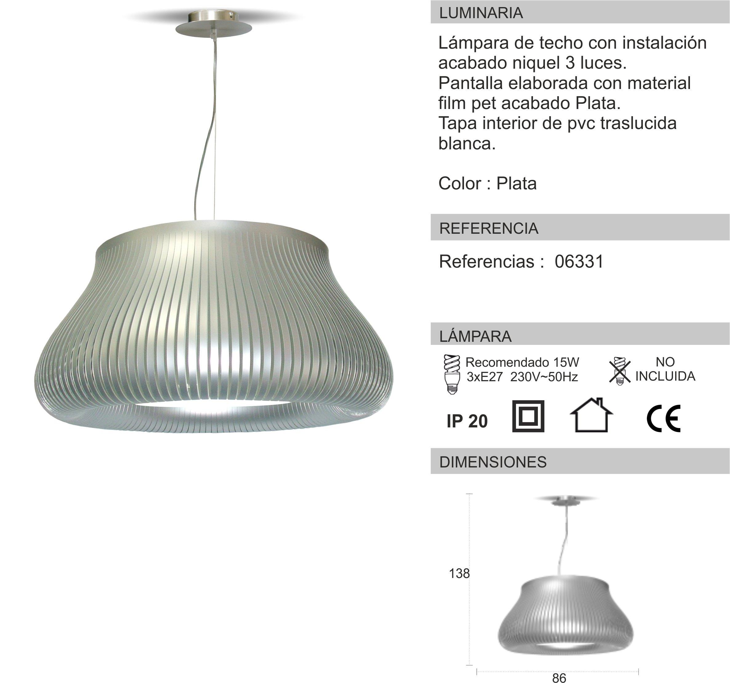 Instalar lampara de techo finest moderno negro geomtrico - Instalar lampara techo ...